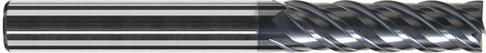 EC604 - Karbür Freze, ExtraCut, Ekstra Uzun