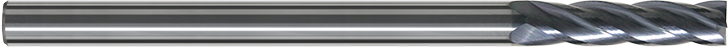 FD104U - Karbür Freze, Uzun