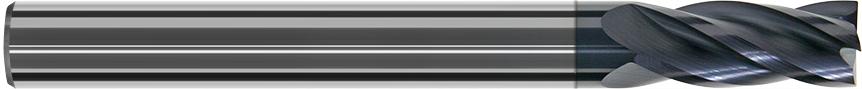 FD404R - Köþe Radyuslu Karbür Freze, Uzun