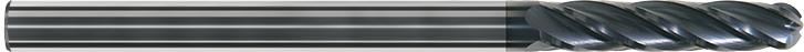 FK104UE - Küresel Karbür Freze, Ekstra Uzun