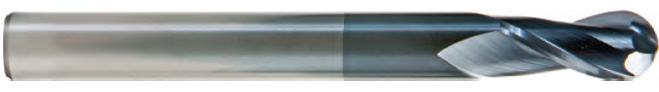 FK402S - Küresel Karbür Freze, Uzun